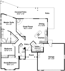pueblo style house plan 72191da architectural designs house