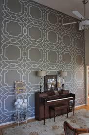 Master Bedroom Wall Stencils Simple Unique Remodelaholic Stenciled Wall Master Bedroom New