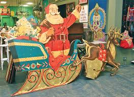 Vintage Christmas Decorations For Sale Photo By Barbaraellen Koch This Vintage Department Store Santa