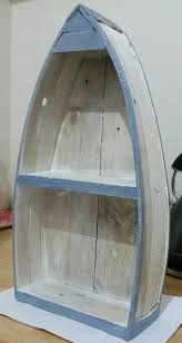 shabby chic boat shelf made from pallet wood u2026 pinteres u2026