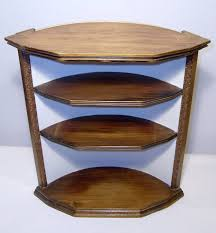 curved wood wall curved wood wall corner shelf crafted 3 tiers curved wall