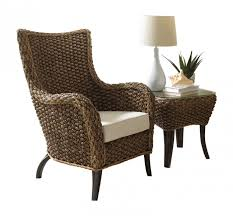 2 pc lounge chair set with cushions