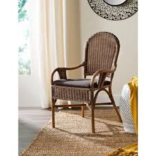 Rattan Accent Chair Safavieh Bettina Brown Rattan Arm Chair Sea4010a The Home Depot