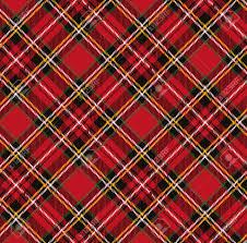 tartan plaid pattern background folk retro style fashion