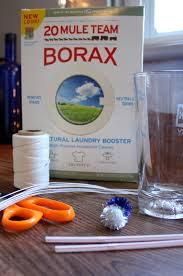 ornaments from borax how to make at home craft thyme