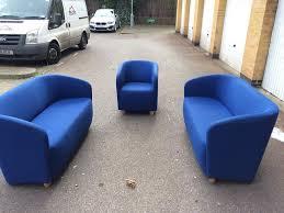 Blue Sofa Set Blue Sofa Set Free London Delivery In Clapham London Gumtree