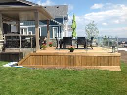 low decks without railings u2014 all furniture pool with decks