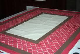 painted drop cloth rug home design ideas