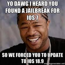 Jailbreak Meme - 22 best memes that showed up when we googled ios7