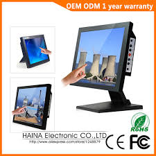 ecran tactile pc bureau 17 pouce moniteur à écran tactile ordinateur de bureau moniteurs