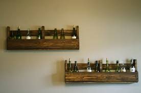re claimed pallet wine racks mason jar moments