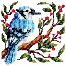 bird5 cross stitch bird machine embroidery design machine