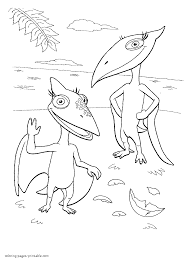 108 dinosaur train coloring pages