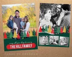 christmas card template shimmery u0026 chic by cardsbyrebekah on etsy