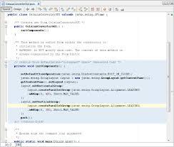gui swing netbeans ide basics the java tutorials creating a gui with jfc
