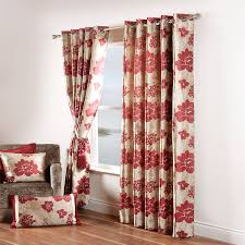 Floral Lined Curtains Curtinas Collection On Ebay