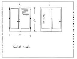 Standard Height Of Interior Door Standard Size Interior Door Opening Interior Doors Design
