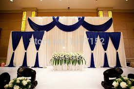 wedding backdrop on stage aliexpress buy top wedding backdrop curtain deluxe