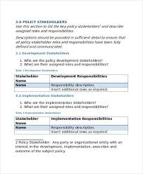 policy template u2013 10 free word pdf document downloads free in