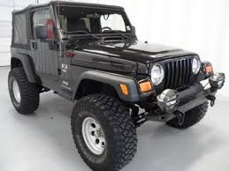 jeep 2004 for sale 2004 jeep wrangler x lifted for sale