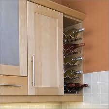 720 high wall cabinets with chrome wine rack shelves kitchen