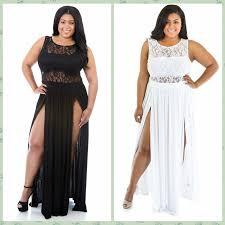 women summer clothing plus size white black lace dress double