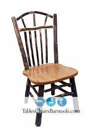 Wagon Wheel Rocking Chair Rustic Amish Built Hickory Wood Restaurant Chairs Bar