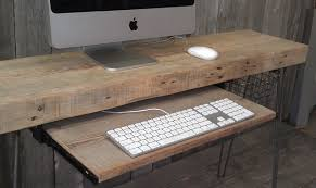 Computer Desk Wood Reclaimed Wood Desks And Home Office Furntiure Modern Home