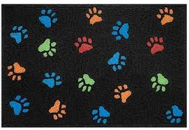 second life marketplace dog paw print rug