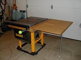 dewalt table saw dw746 dw746 table saw table saw outfeed table donfaulk0517 lumberjocks
