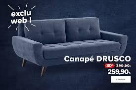 magasin destockage canapé ile de meuble canapé séjour déco luminaire lit design accessible fly