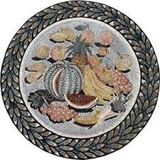 kitchen medallion backsplash fruits kitchen backsplash medallion marble mosaic