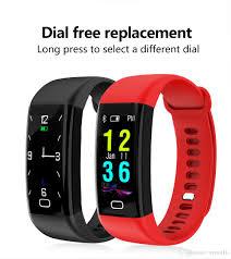 heart rate bracelet images Newest color oled f07 smart bracelet heart rate monitor blood jpg