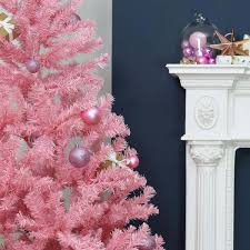 7ft christmas tree pink artificial christmas tree
