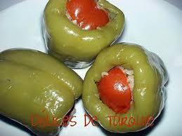 recette de cuisine turc recette de poivrons farcis à la turque