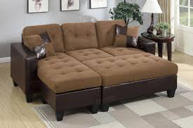 Microfiber Sectional Sofas Brown Leather Sectional Sofa And Ottoman A Sofa Furniture