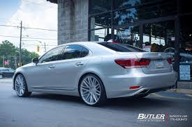 lexus ls 460 black rims lexus ls460 with 22in savini bm13 wheels exclusively from butler