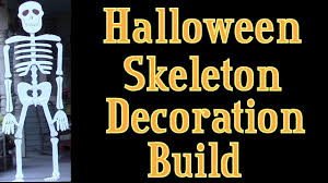 Halloween Skeletons by Halloween Skeleton Lifesize Wooden Skeleton Build Youtube