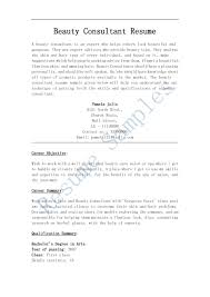 Cosmetology Resume Templates Free Cover Letter For Cosmetology Resume Resume For Your Job Application