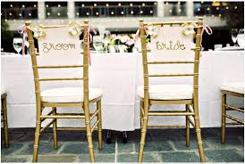 and groom chair signs wedding inspiration chair details