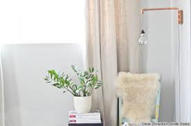 Wall Sconces With Plug In Cords A Diy Wall Sconce Made From Copper Pipes Is The Perfect Industrial