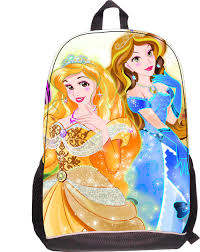 wholesale girls barbie backpacks cartoon character princess