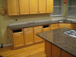 Stainless Steel Backsplash Kitchen by Granite Countertop Kitchen Cabinets Online Canada Stainless