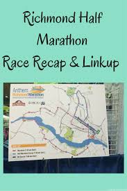 Map Your Run Richmond Half Marathon Recap Eat Pray Run Dc