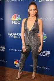 Blue Shades Jennifer Lopez Dazzles At The Shades Of Blue Season 2 Premiere Vogue