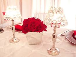 Red And Silver Wedding Red Silver White Centerpiece Centerpieces Place Settings Winter