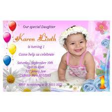 1 year birthday invitation card 1st birthday invitations birthday