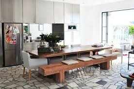 modern kitchen furniture sets remarkable modern dining room table with bench with modern kitchen