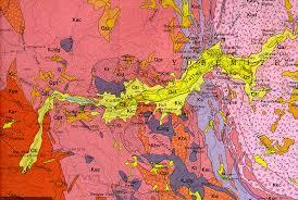 Yosemite Park Map Geologic Map Of Yosemite Valley