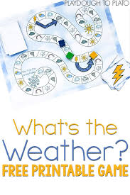 free printable weather game weather terms free printable and